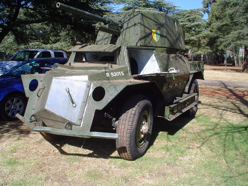 Marmon-Herrington. Armoured Reconnaissance Car Mark 4x4F