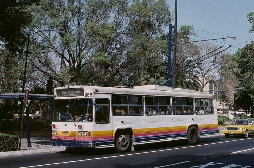 MASA Guadalajara trolleybus 1188