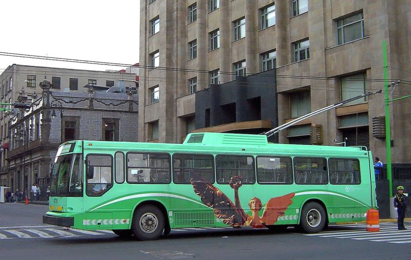 MASA MexCity trolleybus 9735