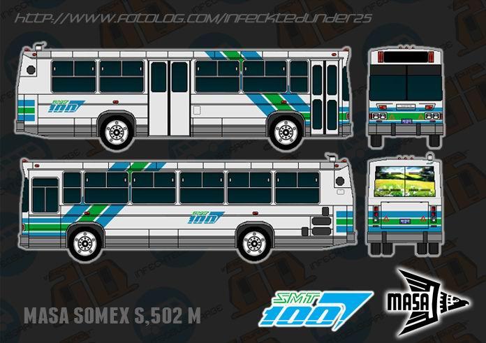 Masa Somex S-502 R-100 gris