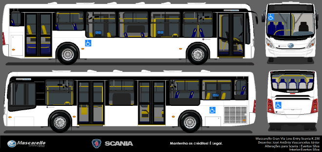 mascarello gran via low-entry - scania k-230a