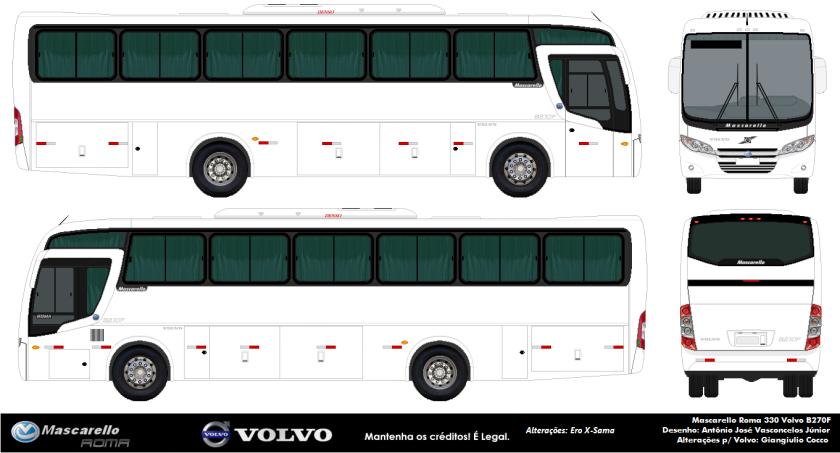 Mascarello Roma 330 - Volvo B270F