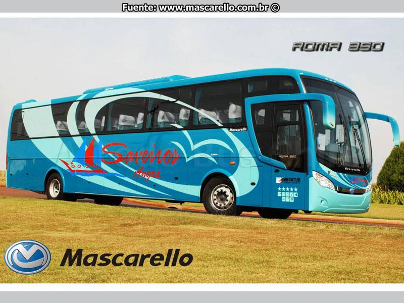MASCARELLO ROMA 350 Volvo B-12 R