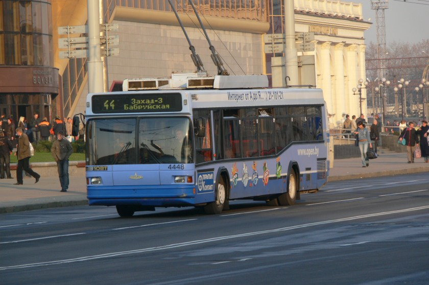 MAZ-103 trolley in Minsk