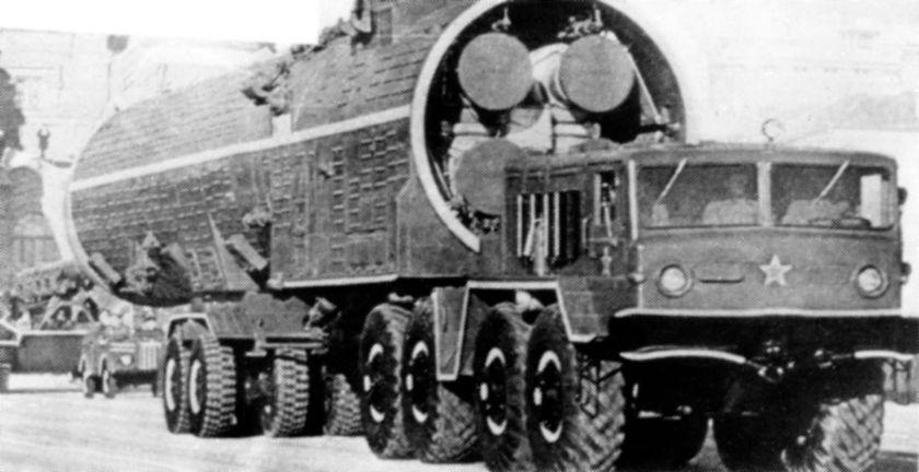 MAZ-537 Galosh anti-ballistic missile launcher