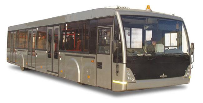 MAZ Airport bus 30906