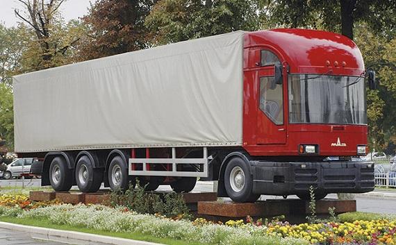 MAZ USSR concept trucks