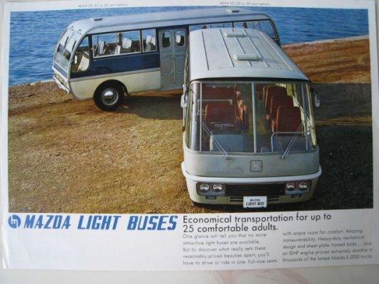 Mazda Lite buses