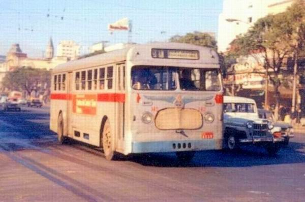 MCW Leyland bus [link] several times in Montevideo, Uruguay,
