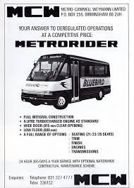MCW Metrorider ad