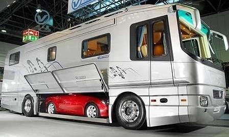 Mercedes Benz 8 Super woonbus Maybach h