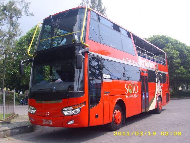 Mercedes-Benz based double deck bus