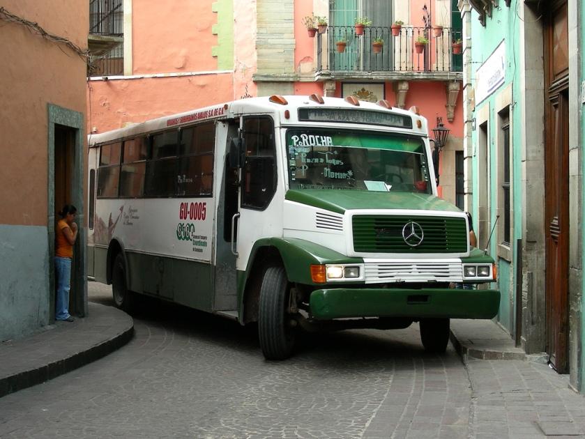 Mercedes Benz Bus, Guanajuato