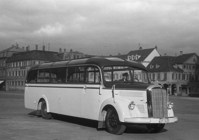 Mercedes-Benz Bus History - PART I (2)