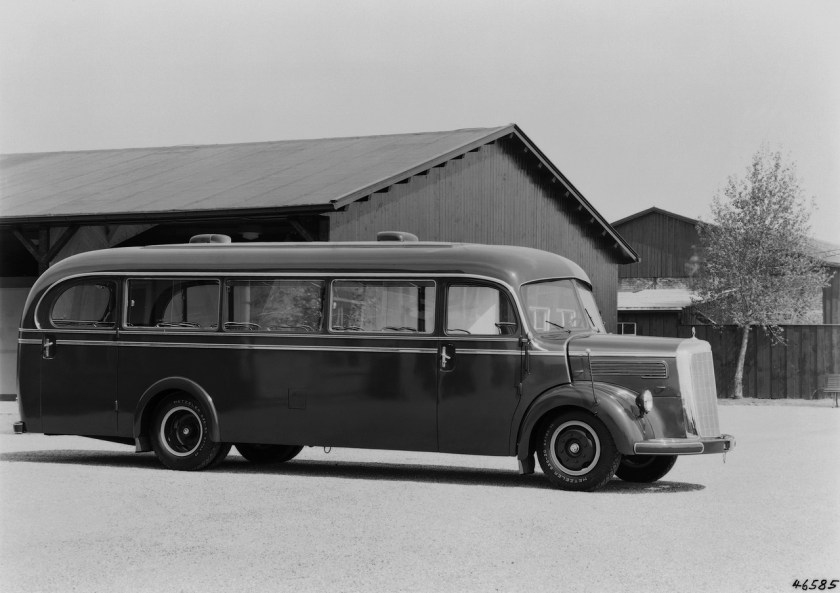 Mercedes-Benz Bus History - PART I (5)