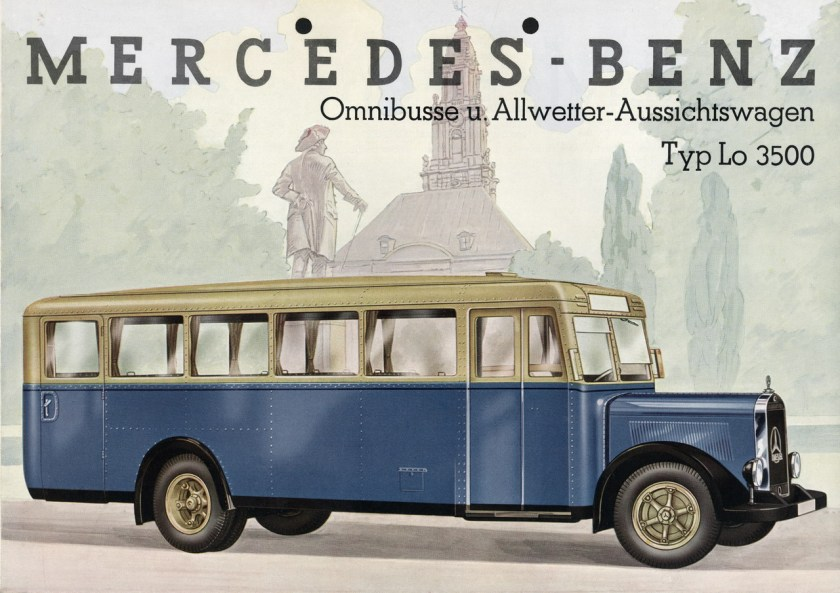 Mercedes-Benz Bus History - PART I