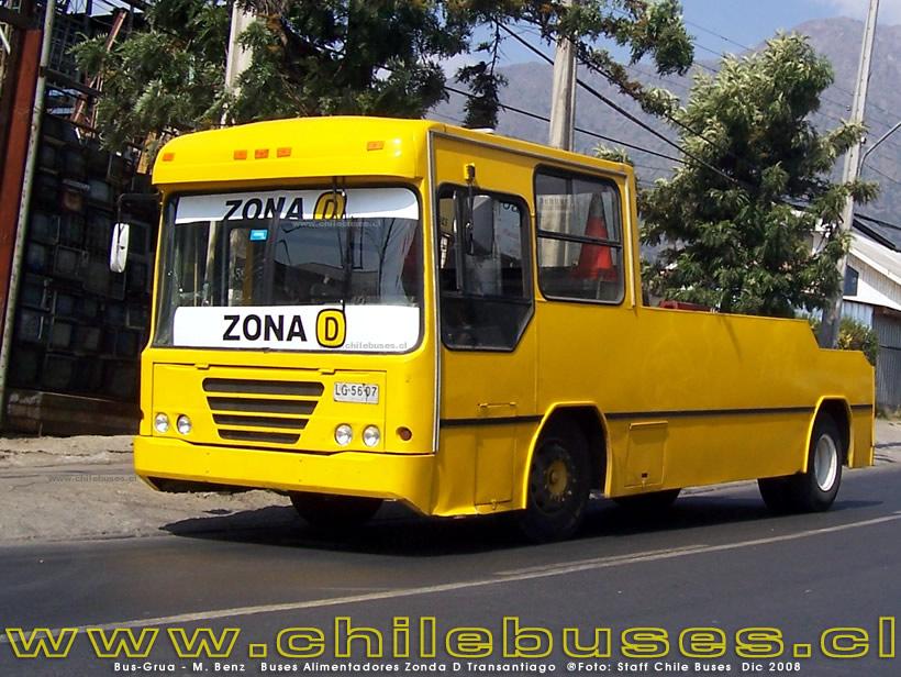 Mercedes Benz Buses Alimentadores Zonda D Transantiago
