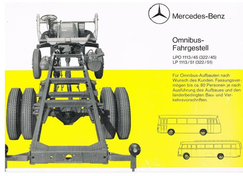 MERCEDES-BENZ LPO1113-45+LP1113-51