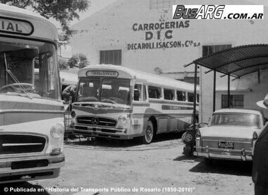 Mercedes Benz O-317 para la empresa El Cóndor