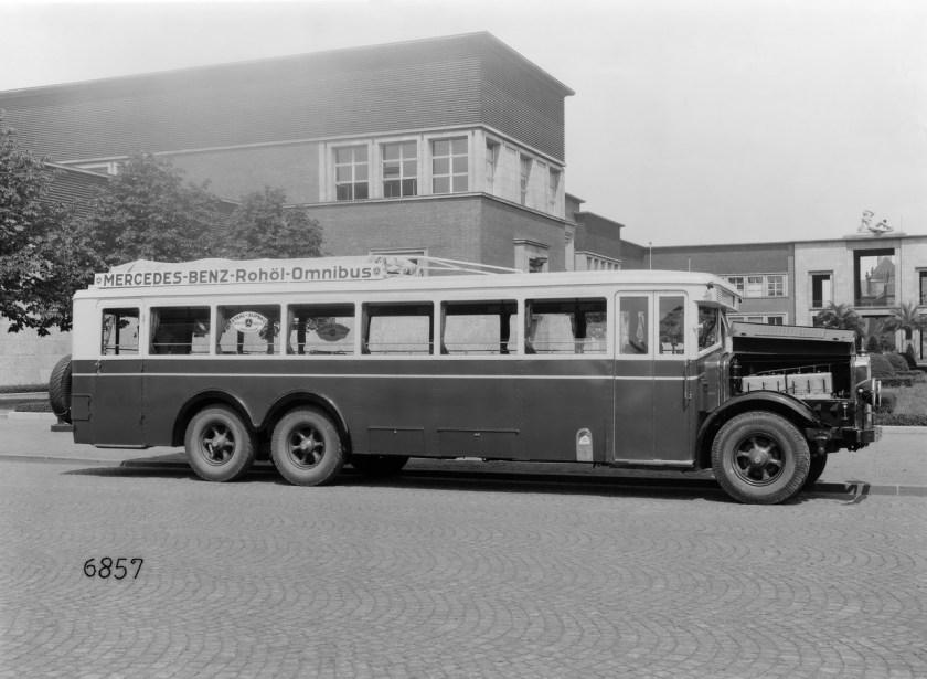 Mercedes-Benz Rohöl Omnibus Bus History - PART I (8)