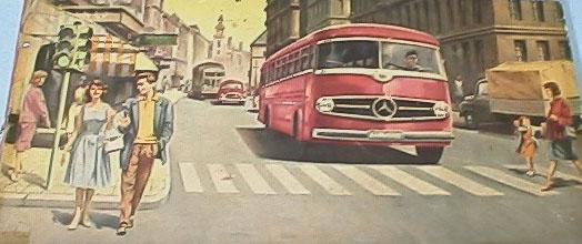 Mercedes-Benz Type O 6600 H Omnibus tekening