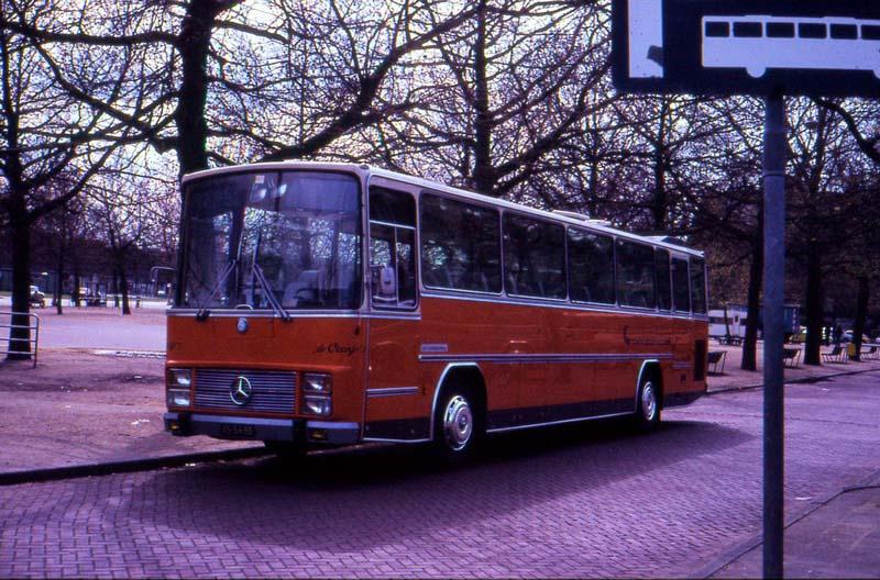 Mercedes Benz van Hool