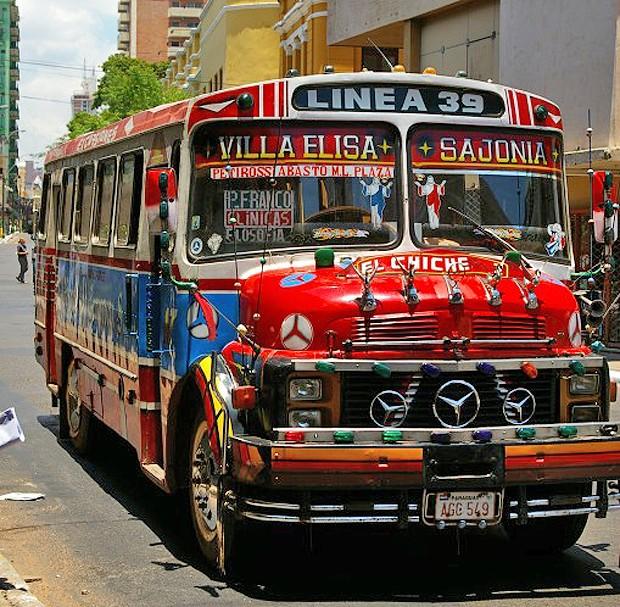 Mercedes Benz Zuid Amerika