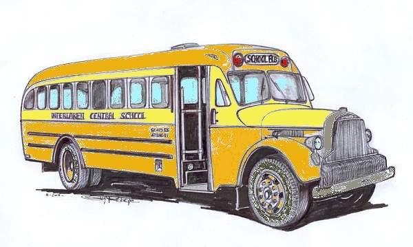 Mercury Buses - built by Mercury Aircraft, Hammondsport, NY
