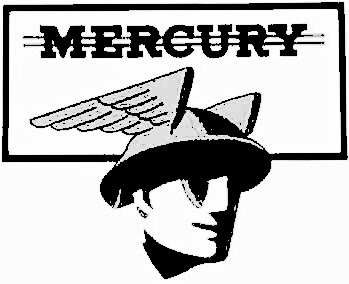 Mercury Man Logo