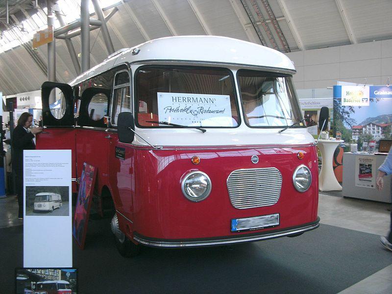 Mikafa Reisemobil de Luxe (1959, 100 PS)