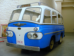 Minerva Bus Blue