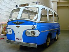Minerva Bus Blue