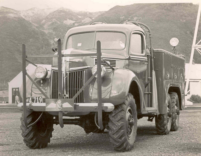 RNZAF 6x6 Marmon Crash-Fire tender