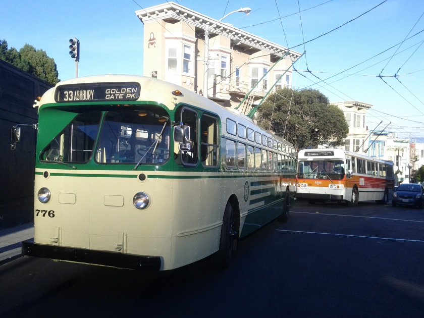 San Francisco Muni Marmon-Herrington Trolley Bus 776