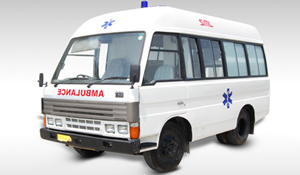 Swaraj Mazda Ambulance a