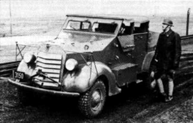 Tracteur Ford-Marmon-Herrington Belgium