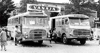 Vanaja VLK-5000 Korittamo and Vanaja VKT6-5200+1150 Ajokki