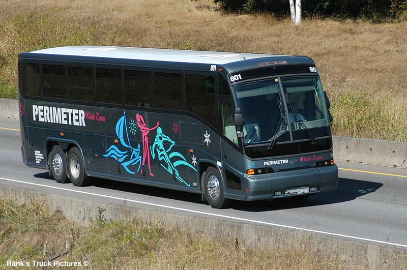 Whistler Express MCI's