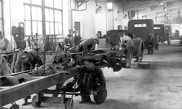 Yhteissisu assembly line