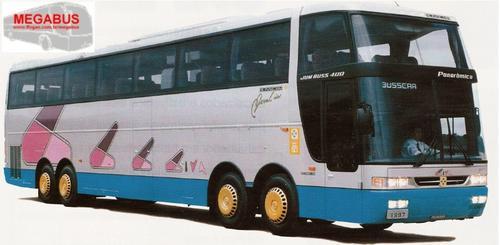 00 Busscar Jumbuss 400P privilegia vista panorâmica