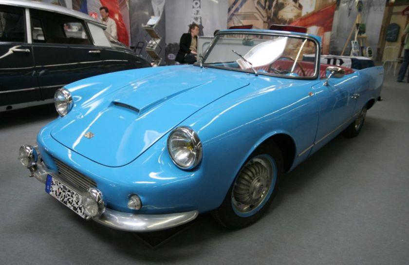 07 1960 Panhard DB Le Mans 2 cyl 850 ccm 60 PS