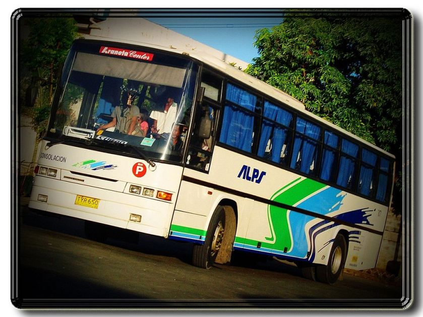 09 ALPS The Bus, Inc. - Nissan Diesel SR Euro - 707 a.k.a. Consolacion