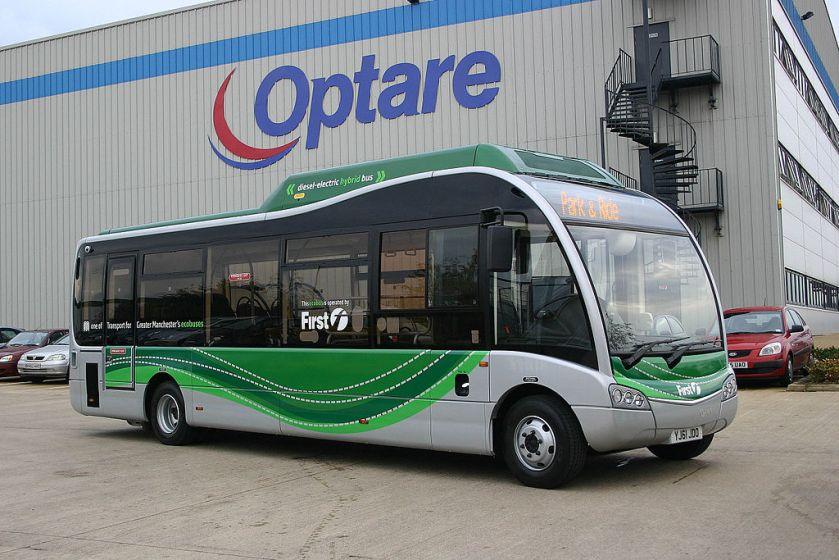 10 2013 Optare Solo SR Hybrid