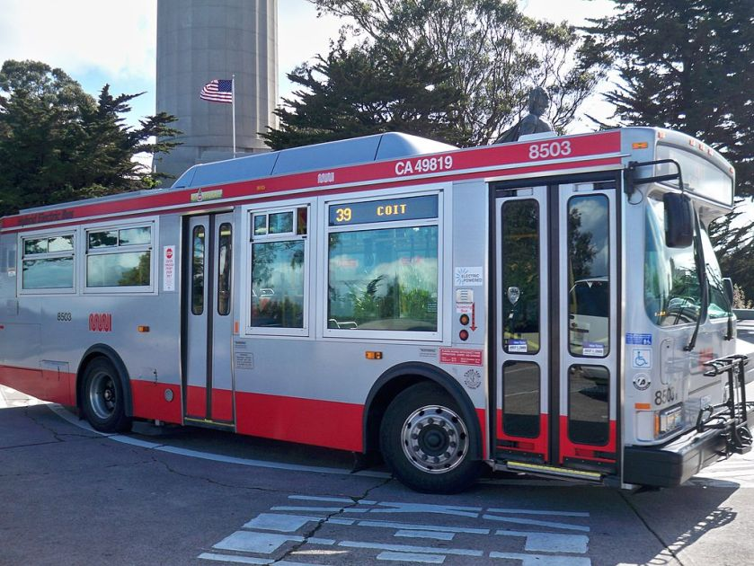 12 SF Muni Orion VII
