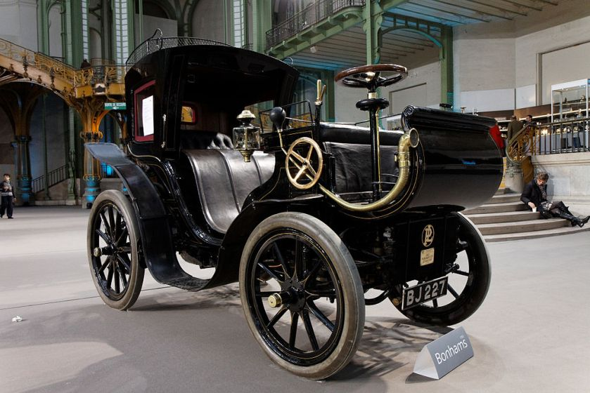 1901 Panhard et Levassor 2,4 litres Phaéton à conduite avancée Carosserie Kellner