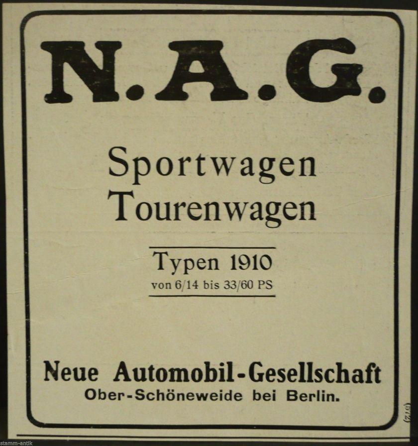 1910 NAG