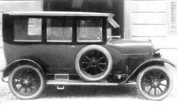 1919 Fiat 501 Berlina bodied by Orlandi