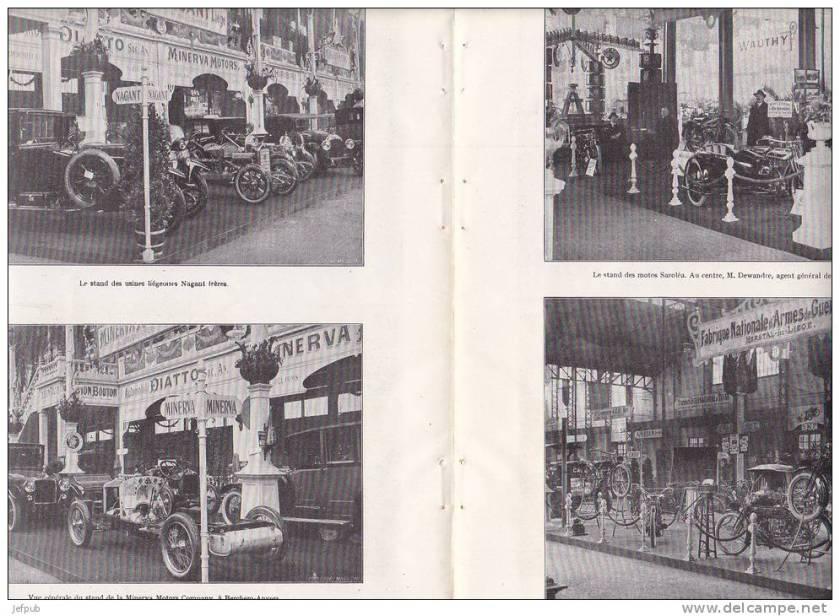 1921 Autosalon de Bruxelles c