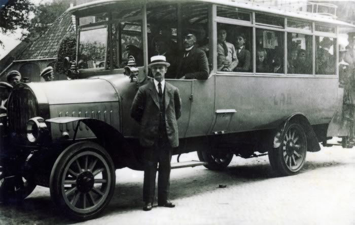 1921 Opel onderstel en motor