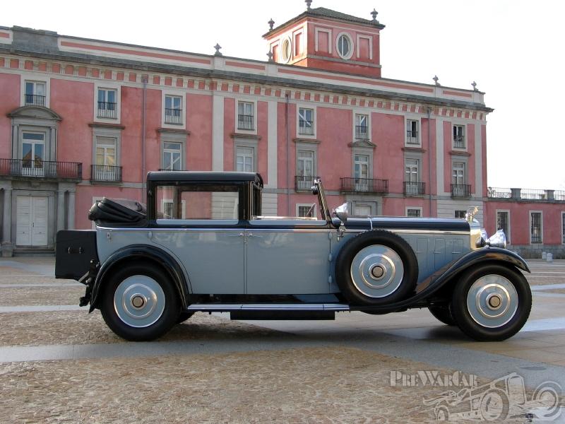 1922 Hispano-Suiza (F) Coupe-Chauffeur Landaulet